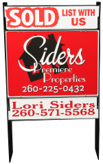 Siders Premiere Properties Yard Sign
